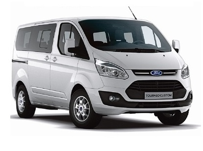 Ford Tourneo Custom für 8 Personen